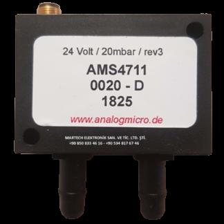 AMS4711-0020-D-ANALOGMİCRO-20MBAR-0..5V-BASINÇ TRANSMİTERİ